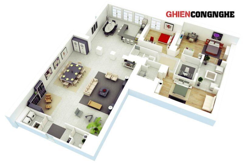 Top 13 phần mềm thiết kế nhà 3D mà dân xây dựng hay dân thiết kế nội thất hay dùng