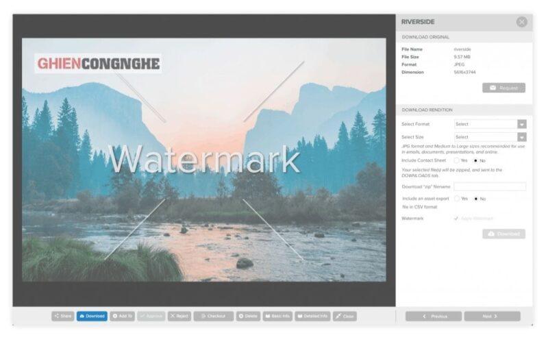 Watermark là gì? Người làm Marketing không nên bỏ qua