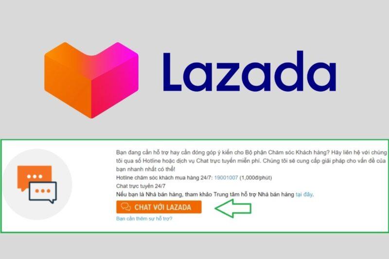 Xóa tài khoản Lazada