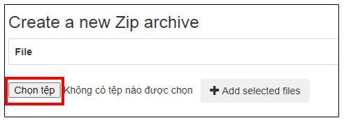 file zip là gì