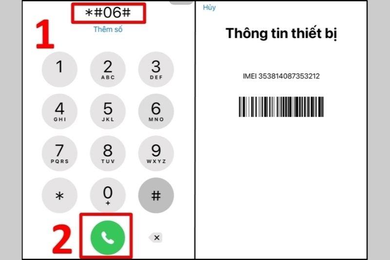 kiểm tra iPhone chính hãng