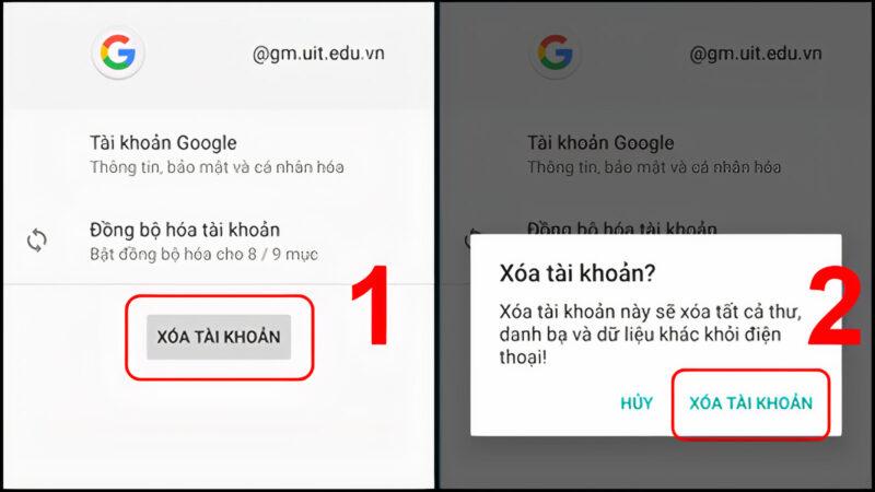 Cách xóa tài khoản Google vĩnh viễn trên máy tính hoặc điện thoại 31