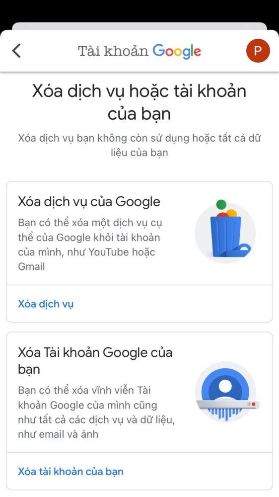 Cách xóa tài khoản Google vĩnh viễn trên máy tính hoặc điện thoại 8