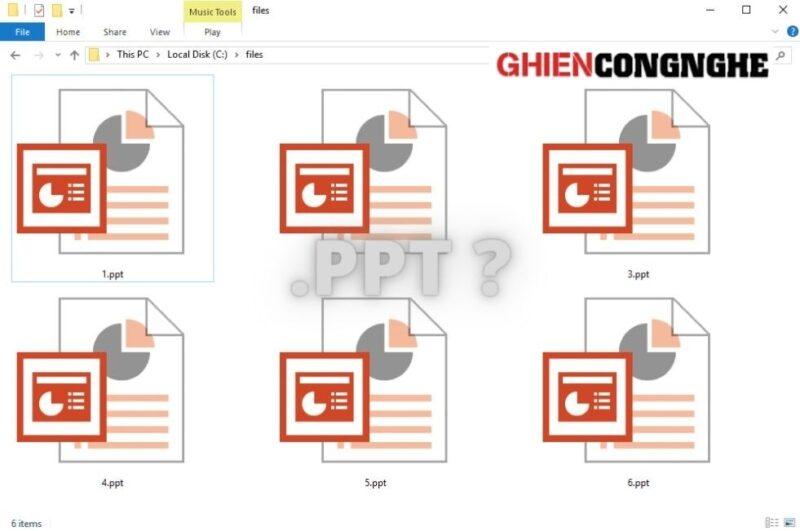 File PPT là gì? Bạn biết bao nhiêu điều trong 7 điều này?