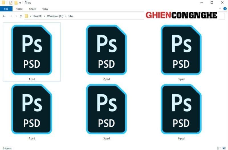 File PSD là gì? Vài phút để biết tuốt về file PSD khi học Photoshop