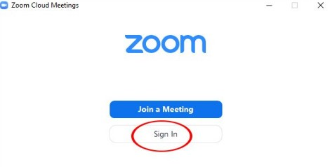 Lúc này, Zoom sẽ đưa ra cho chúng ta các lựa chọn những phương thức để đăng nhập. Thông thường, ai cũng đã có sẵn cho mình một email cá nhân. Vì vậy chúng ta nên chọn phương thức Sign in with Google để Zoom liên kết ngay với tài khoản email đang dùng, vừa nhanh vừa thuận tiện.