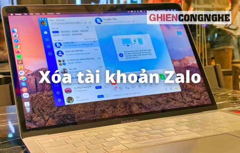 Cách xóa tài khoản Zalo trên máy tính đơn giản chỉ với vài thao tác
