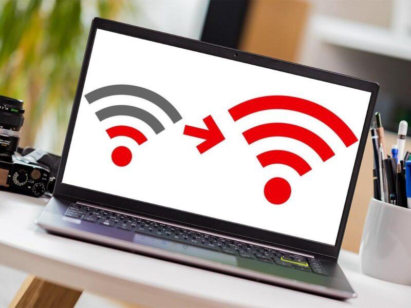 Làm gì khi Laptop bắt WiFi yếu hoặc mất kết nối
