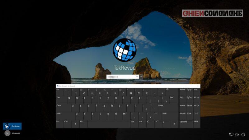 Cách mở bàn phím ảo Win 10 như thế nào? Bàn phím ảo không bật khi chuyển sang dạng Tablet trên Win 10?