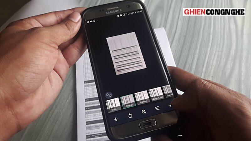 Cách sử dụng CamScanner nhanh chóng có ngay file scan tài liệu chuẩn PDF gửi sếp